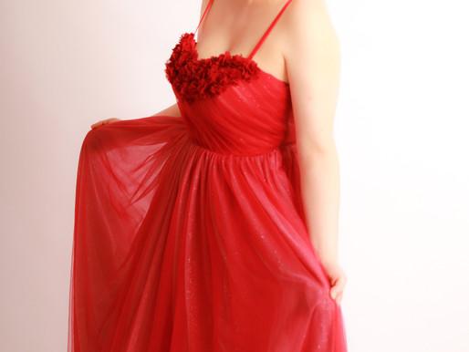乳がん、ドレス撮影。大人可愛くて素敵でした!