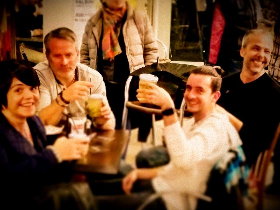 Un petit verre entres amis
