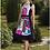 Thumbnail: Vibrant Colorful Abstract Dress