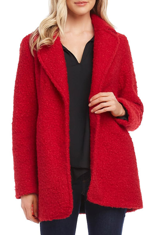 Boucle Red Carcoat