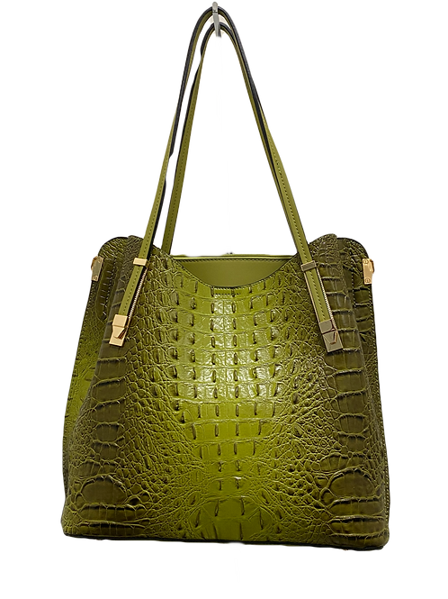 Large Green Shoulder bag
