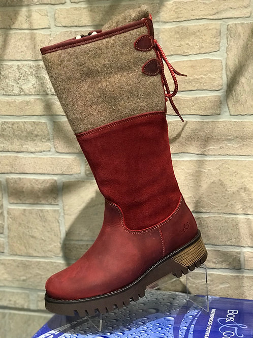GOOSE WATERPROOF BOILED WOOL MID CALF BOOTS