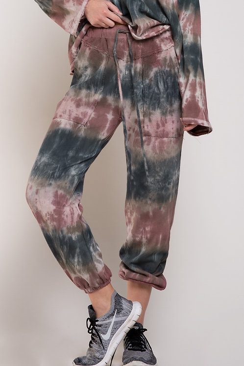 French Terry Bottom Tie Dye