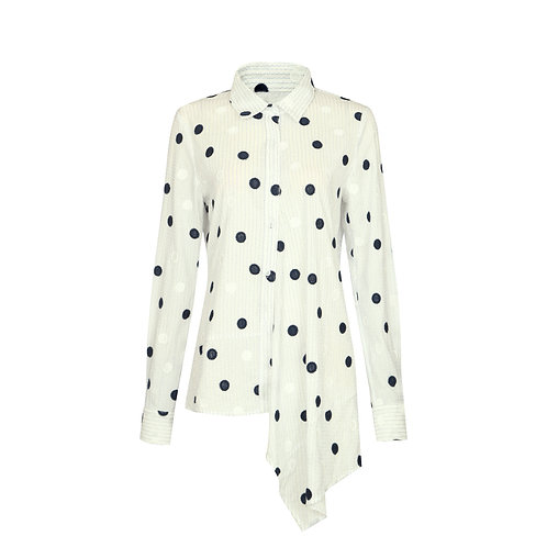 Dots And Stripes Blouse