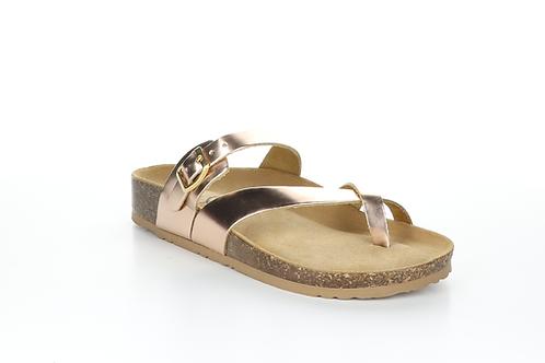 Rose Gold Parr Sandal
