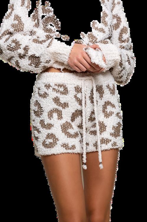 Berber Leopard Shorts