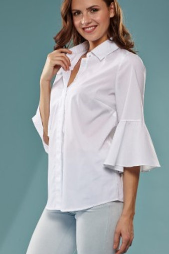 Insight 3/4  Trumpet Sleeve Blouse