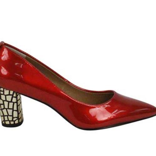 Vanetta Heel in Red