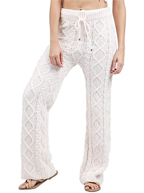 Pol Cable Knit Lounge Pant