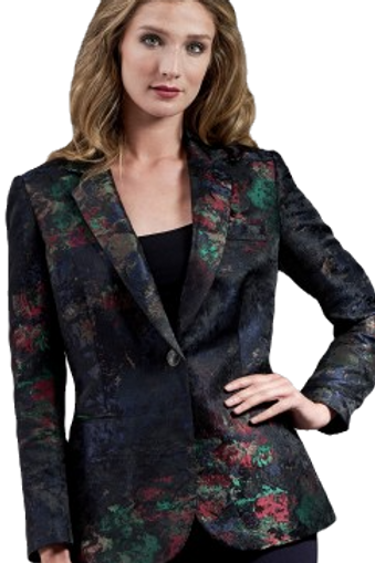 Midnight Bouquet Blazer