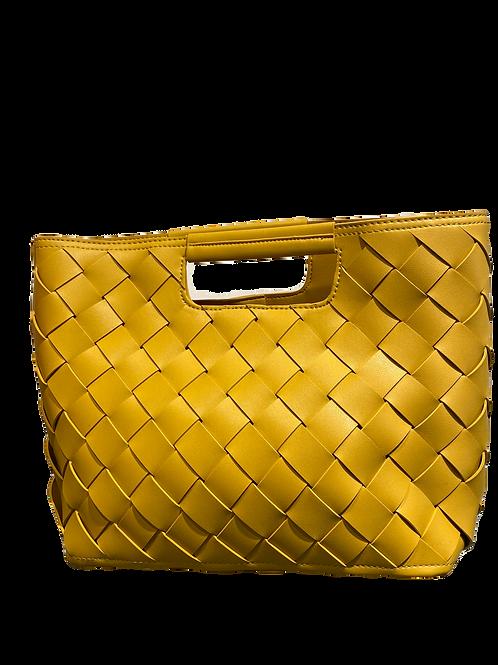 Mustard Woven Bag