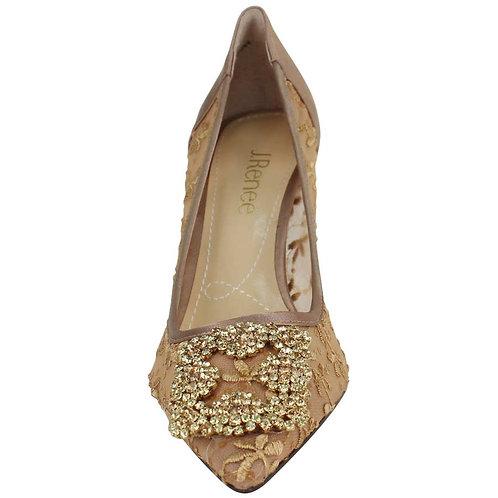 Bilboa Crystal Heel Gold