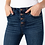 Thumbnail: High Rise Flare Jeans with Raw hem