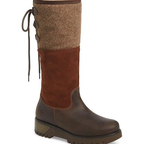 Goose Waterproof Boiled Wool Mid Calf Boot