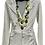 Thumbnail: Striped Knit Cardigan