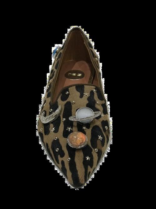 Ras Leopard print Galaxy Flat