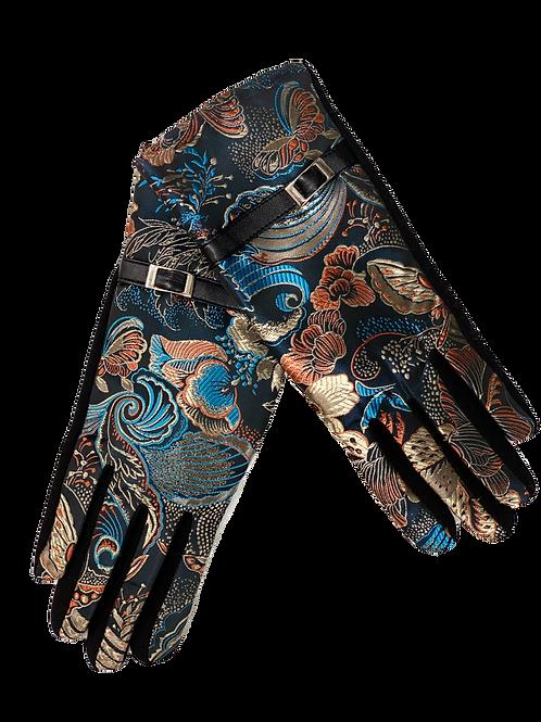 Blue Mural Gloves