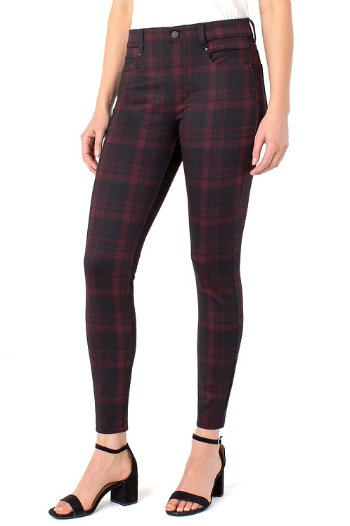Gia Glider Plaid Pants