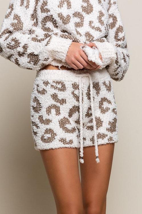 Leopard Berber Short