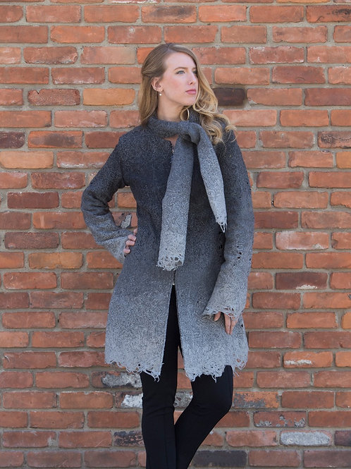 The Smokey Coat (with adjustable collar)