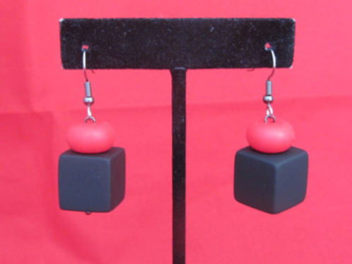 The Funky cube Earrings