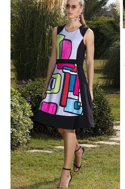 Dolcezza Color Block Dress