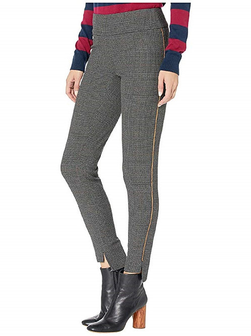 Cambridge Plaid High-Low Ankle Pants