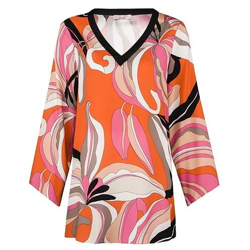 Robell Sharron Flower Tunic
