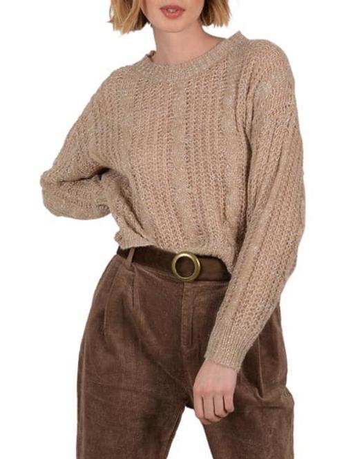 Multi Knit Glimmer Sweater