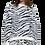 Thumbnail: Berber Black and White Zebra  Pullover