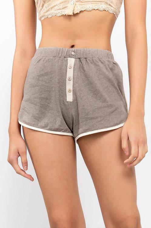 Contrast Binding  Dolphin Shorts