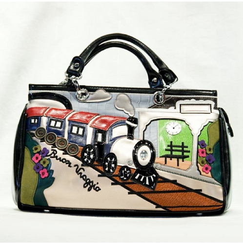 Samuel Dong Train Purse