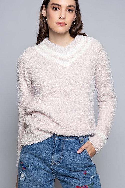Berber Cozy Varsity Pullover