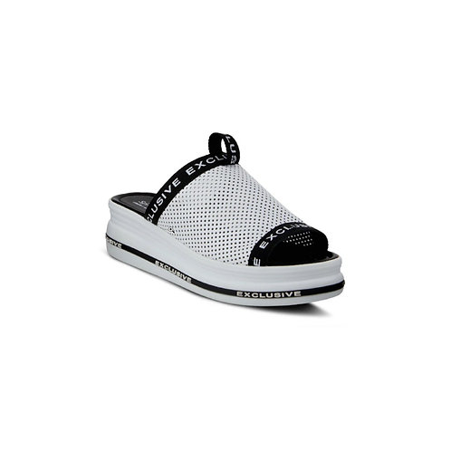 WHITE EXCLUSIVE SANDALS BY SPRING STEP