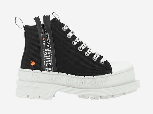 Art Moon Sneaker Black & White