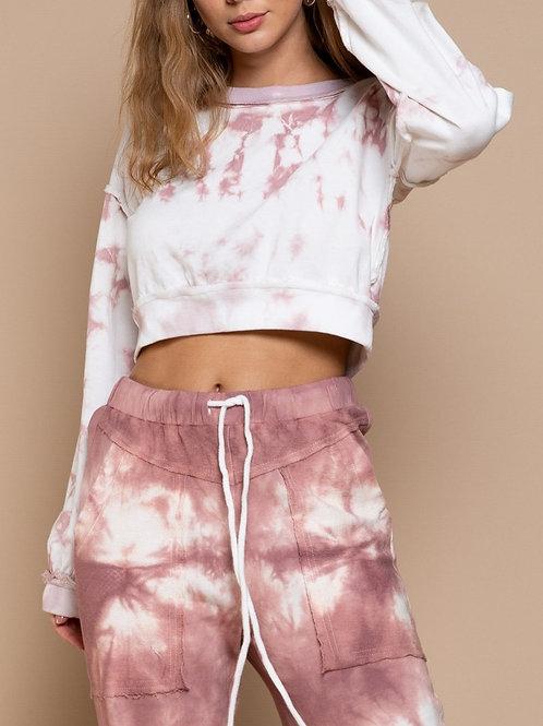 Obsessed Or Not Hand Dip Dye Sweatshirt