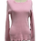 Thumbnail: Pink Raw Edge Sweater