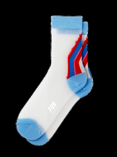 Vintge Varsity Sheer Socks