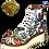 Thumbnail: Ras Grafitti Laceup Platform Boots