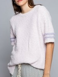 Berber Cozy Pink Sweater Top