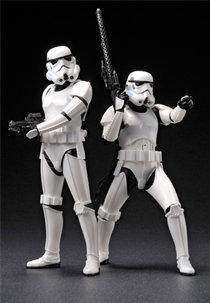 STAR WARS Stormtrooper Twin Pack ArtFX+ Statue