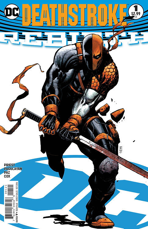 DeathStroke #01 (Variant Cover)