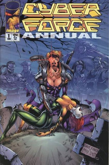 Cyber Force Annual #1
