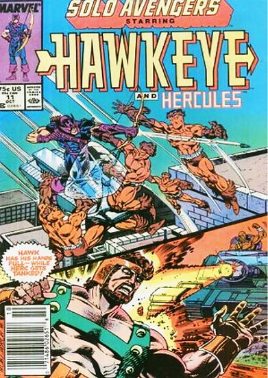 Hawkeye and Hercules #11