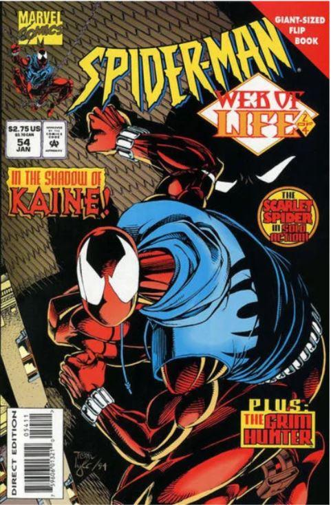 Spider-Man #54  (Scarlet Spider) Web of Life #2