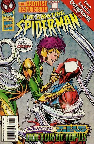 The Amazing Spider-man #406 First Appearance of Dr Octopus II Lady Dr Oct