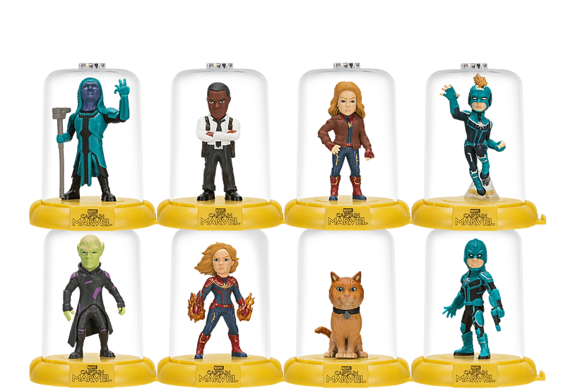 Captain Marvel Domez blind bag