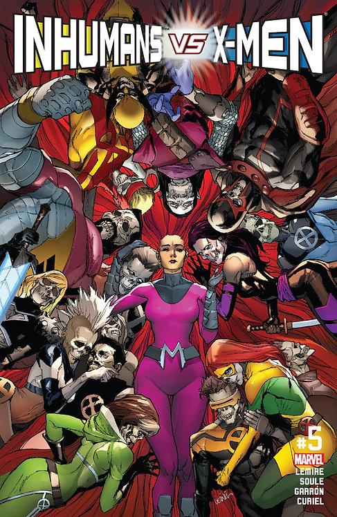 Inhumans vs X-men #05