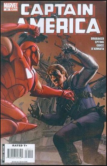Captain America #33