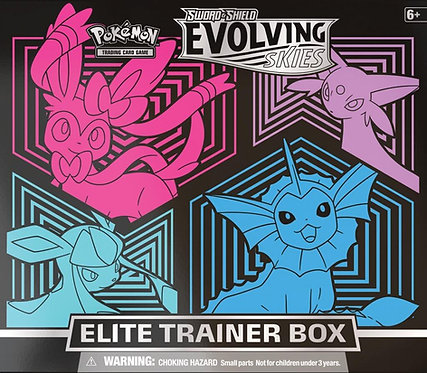 POKÉMON TCG Sword and Shield – Evolving Skies Elite Trainer Box (Box A)